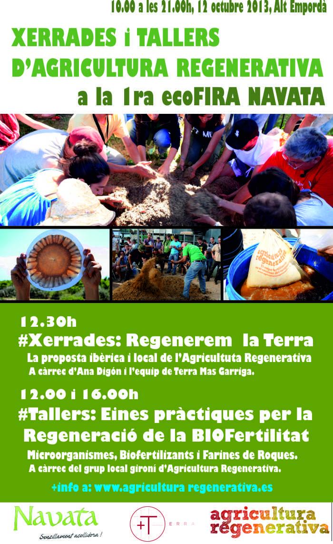CAT_Activitats Agricultura Regenerativa_ecoFIRA_Navata_12 Octubre