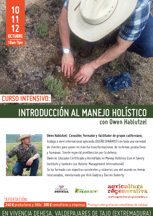 poster_CURSO_MH Intro Owen_17 a 19 oct