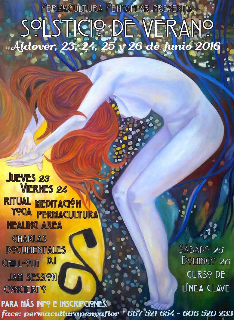 FESTIVAL SOLSTICIO VERANO 2016 - PERMACULTURA PENYAFLOR